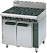 6 Ring Double Oven - Gas